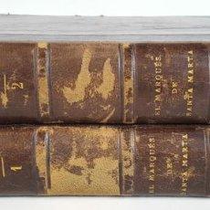 Libros antiguos: EL MARQUES DE SANTA MARTA. 2 TOMOS. ENRIQUE VERA GONZALEZ. 1894.. Lote 113836255
