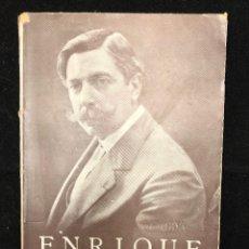 Libros antiguos: ENRIQUE GRANADOS, RECUERDOS DE SU VIDA. Lote 113915903