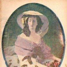 Libros antiguos: CARMEN DE BURGOS COLOMBINE : LA EMPERATRIZ EUGENIA, SU VIDA (LA NOVELA CORTA, 1920). Lote 114081875