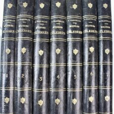 Libros antiguos: L-1572. GALERIA HISTÓRICA DE MUJERES CÉLEBRES. EMILIO CASTELAR. 7 TOMOS. MADRID 1886. PRIMERA EDICÓN. Lote 114356519