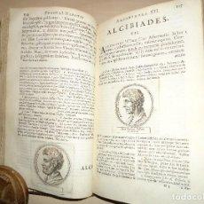 Libros antiguos: CORNELII NEPOTIS VITAE EXCELLENTIUM IMPERATORUM 1675 GRABADOS. Lote 114707571