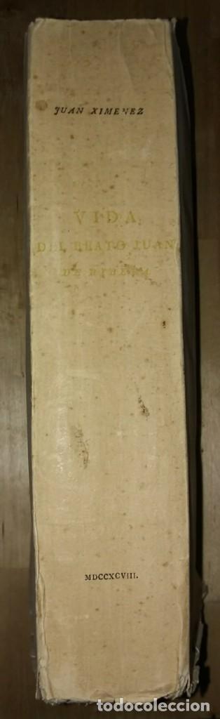 VIDA DEL BEATO JUAN DE RIBERA (JUAN XIMENEZ, 1798) INTONSO