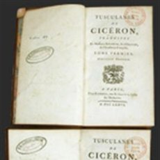 Libros antiguos: THE HISTORY OF THE LIFE OF MARCUS TULLIUS CICERO. THE 8. EDITION. - LONDON, STRAHAM 1767. Lote 115229367