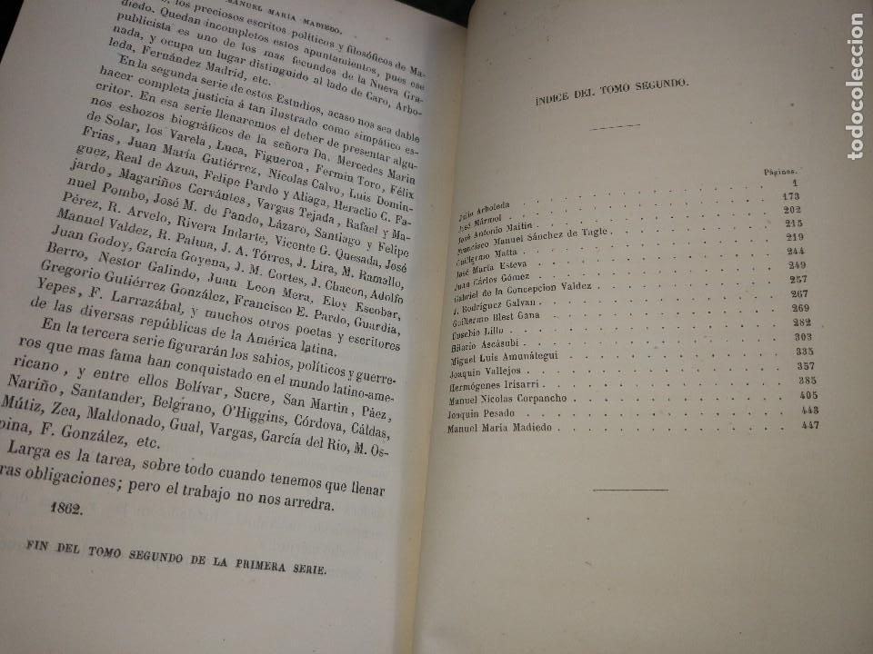 Libros antiguos: Ensayos Biográficos y de Crítica Literaria. Torres Caicedo. Primera y Segunda Serie. 3 vol. 1863-68 - Foto 5 - 115245291