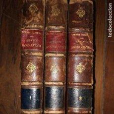 Libros antiguos: ENSAYOS BIOGRÁFICOS Y DE CRÍTICA LITERARIA. TORRES CAICEDO. PRIMERA Y SEGUNDA SERIE. 3 VOL. 1863-68. Lote 115245291
