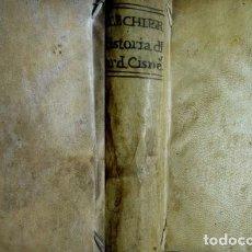 Libros antiguos: FLECHIER, ESPRIT. HISTORIA DE EL CARDENAL DON FRAY FRANCISCO XIMENEZ DE ZISNEROS. LYON, 1712.. Lote 115455243