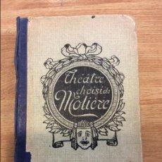 Libros antiguos: THEATRE CHOISIDE MOLIERE - 14ª EDICION - J. DE GIGORD - 1922. Lote 115683743