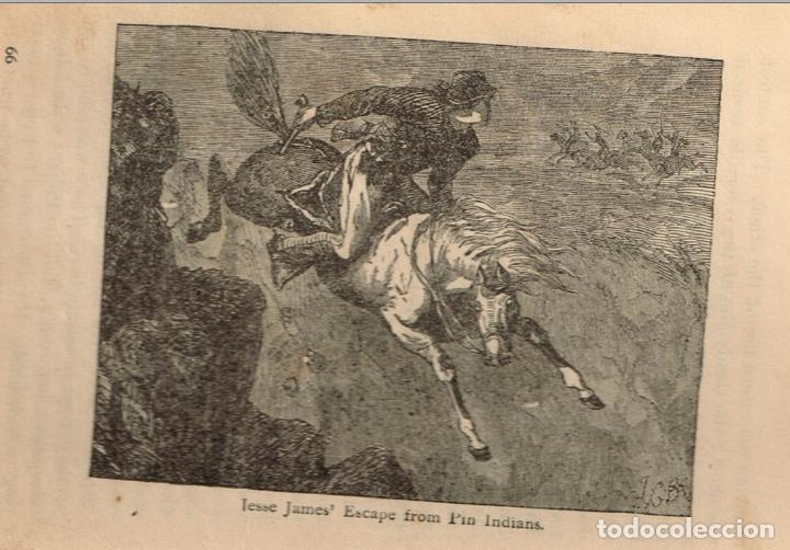 Alte Bücher: VIDA Y AVENTURAS DE JESSE JAMES Y DE LOS HNOS YOUNGER, FAMOSOS FORAJIDOS DEL OESTE. 1882 ¡VER FOTOS! - Foto 12 - 116204363