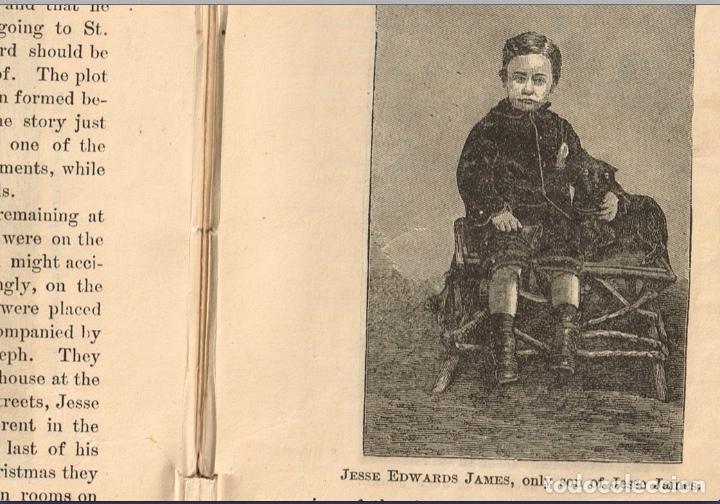 Alte Bücher: VIDA Y AVENTURAS DE JESSE JAMES Y DE LOS HNOS YOUNGER, FAMOSOS FORAJIDOS DEL OESTE. 1882 ¡VER FOTOS! - Foto 21 - 116204363