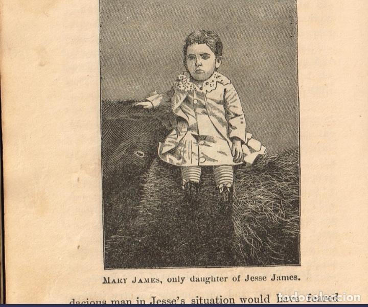 Alte Bücher: VIDA Y AVENTURAS DE JESSE JAMES Y DE LOS HNOS YOUNGER, FAMOSOS FORAJIDOS DEL OESTE. 1882 ¡VER FOTOS! - Foto 22 - 116204363