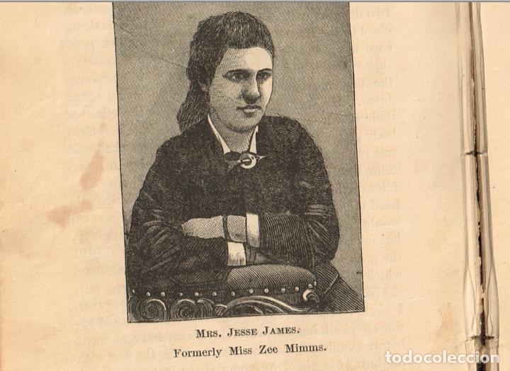 Alte Bücher: VIDA Y AVENTURAS DE JESSE JAMES Y DE LOS HNOS YOUNGER, FAMOSOS FORAJIDOS DEL OESTE. 1882 ¡VER FOTOS! - Foto 25 - 116204363