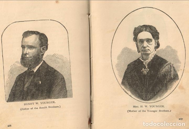 Alte Bücher: VIDA Y AVENTURAS DE JESSE JAMES Y DE LOS HNOS YOUNGER, FAMOSOS FORAJIDOS DEL OESTE. 1882 ¡VER FOTOS! - Foto 29 - 116204363