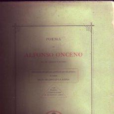 Libros antiguos: POEMA DE ALFONSO ONCENO, REY DE CASTILLA Y DE LEÓN. MANUSCRITO DEL SIGLO XIV, 1863. Lote 116963955