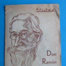 Livros antigos: VIDAS. BIOGRAFÍAS ANECDÓTICAS. AÑO 1, Nº I. RAMÓN MARÍA DEL VALLE INCLÁN, MADRID, 1936.. Lote 118448655