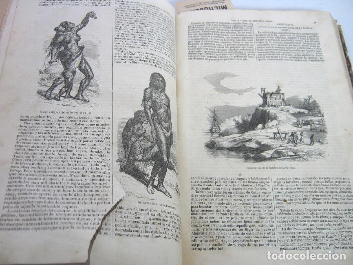 Libros antiguos: s.XIX PRECIOSO LIBRO año 1827 - CRISTÓBAL COLÓN - Foto 3 - 121075271