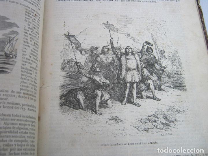 Libros antiguos: s.XIX PRECIOSO LIBRO año 1827 - CRISTÓBAL COLÓN - Foto 4 - 121075271