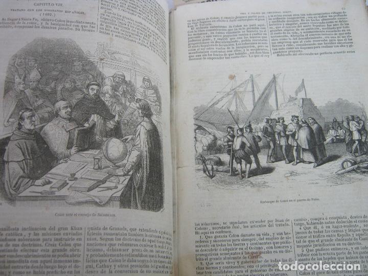 Libros antiguos: s.XIX PRECIOSO LIBRO año 1827 - CRISTÓBAL COLÓN - Foto 5 - 121075271