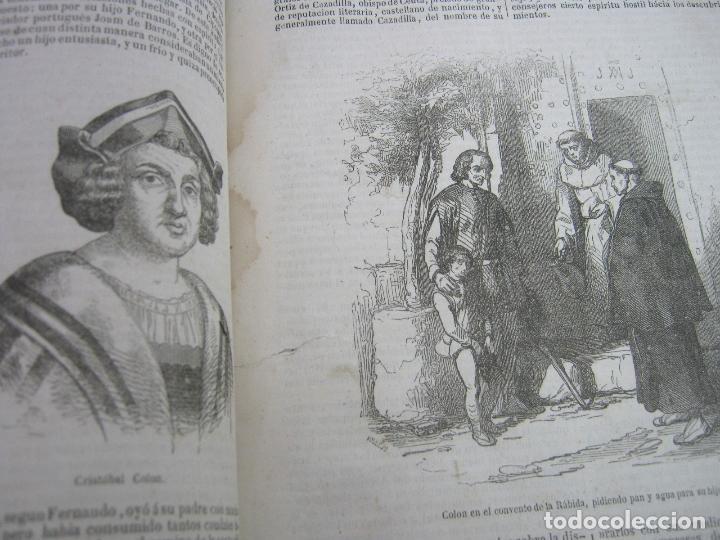Libros antiguos: s.XIX PRECIOSO LIBRO año 1827 - CRISTÓBAL COLÓN - Foto 6 - 121075271