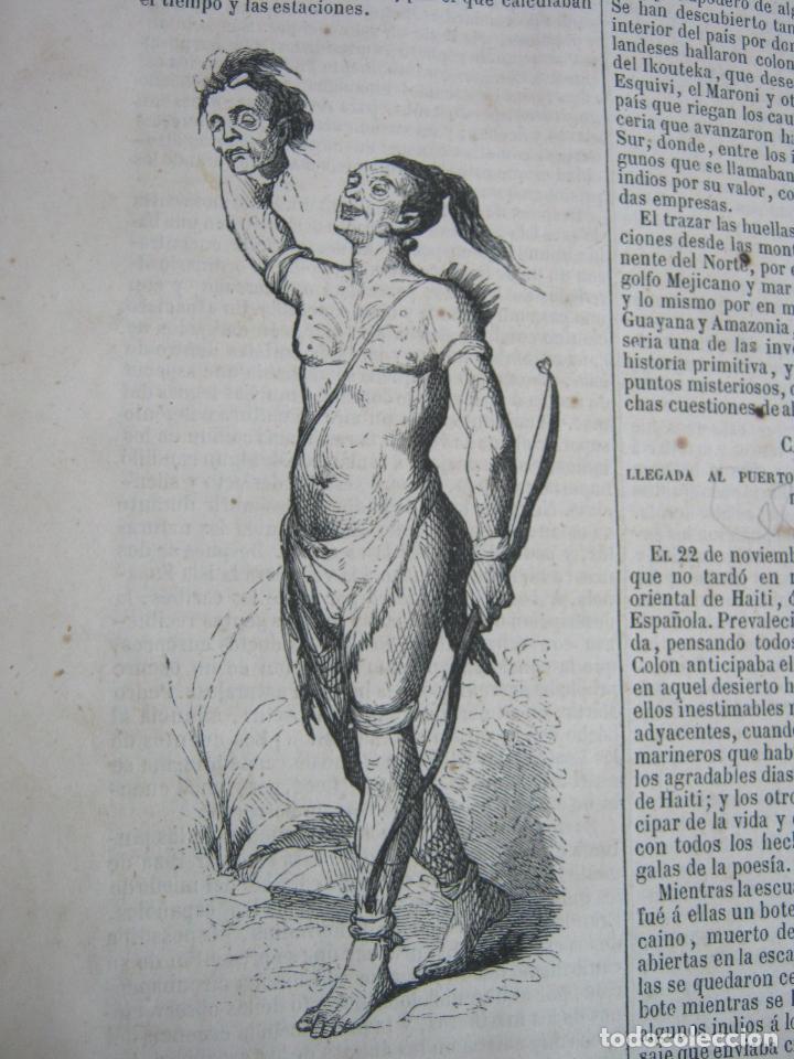 Libros antiguos: s.XIX PRECIOSO LIBRO año 1827 - CRISTÓBAL COLÓN - Foto 7 - 121075271
