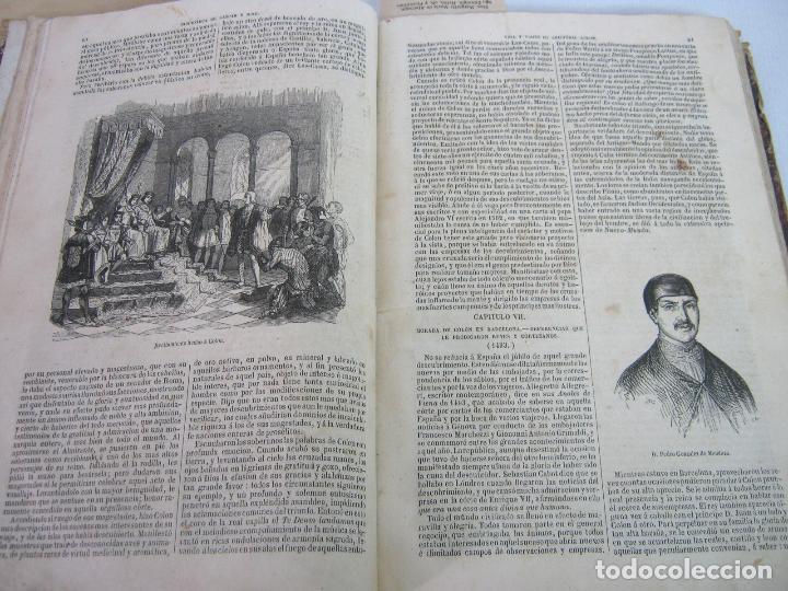 Libros antiguos: s.XIX PRECIOSO LIBRO año 1827 - CRISTÓBAL COLÓN - Foto 8 - 121075271