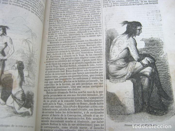 Libros antiguos: s.XIX PRECIOSO LIBRO año 1827 - CRISTÓBAL COLÓN - Foto 9 - 121075271