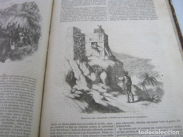 Libros antiguos: s.XIX PRECIOSO LIBRO año 1827 - CRISTÓBAL COLÓN - Foto 10 - 121075271