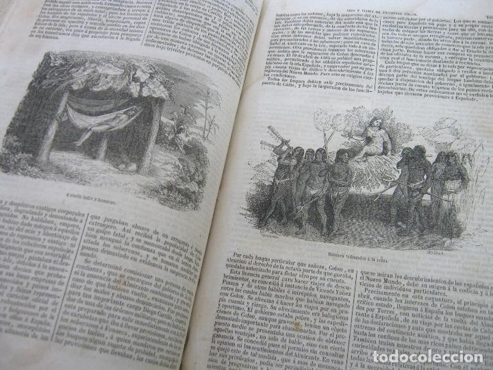 Libros antiguos: s.XIX PRECIOSO LIBRO año 1827 - CRISTÓBAL COLÓN - Foto 12 - 121075271