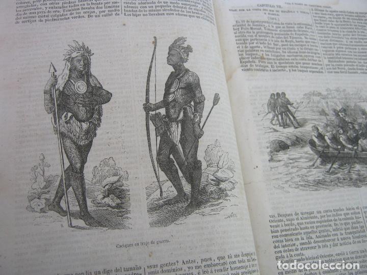 Libros antiguos: s.XIX PRECIOSO LIBRO año 1827 - CRISTÓBAL COLÓN - Foto 13 - 121075271