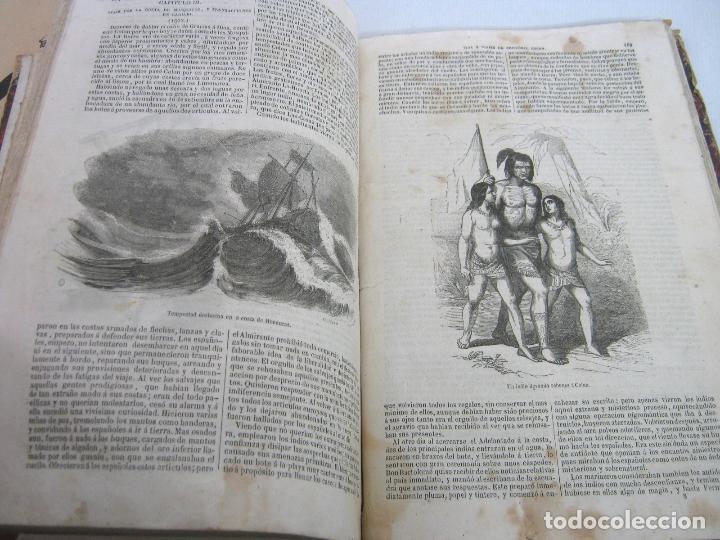 Libros antiguos: s.XIX PRECIOSO LIBRO año 1827 - CRISTÓBAL COLÓN - Foto 18 - 121075271