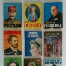 Libros antiguos: 9 PEQUEÑOS LIBROS DE EDICIONES PULGA.. Lote 122605579