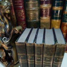 Libros antiguos: HISTORIA DE LOS GIRONDINOS POR A. DE LAMARTINE - 5 TOMOS - ESTAB. TIPOG. DE D.F. DE P. MELLADO -1851. Lote 122985471