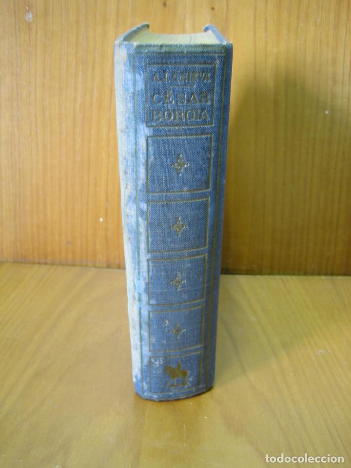 Libros antiguos: Los Borgia. Cesar Borgia 1945 - Foto 2 - 122994735