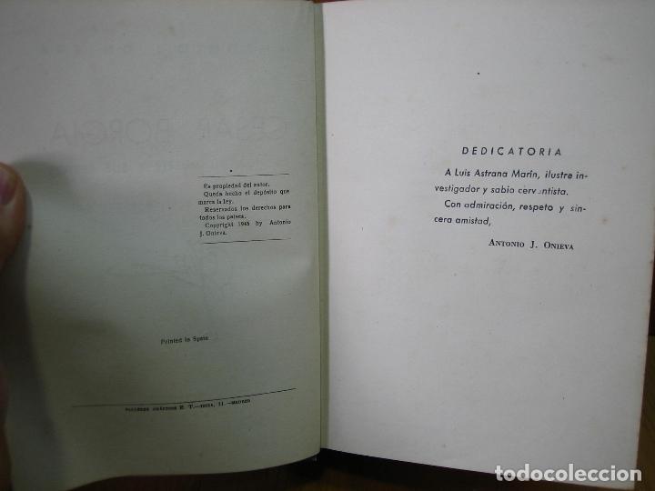 Libros antiguos: Los Borgia. Cesar Borgia 1945 - Foto 3 - 122994735
