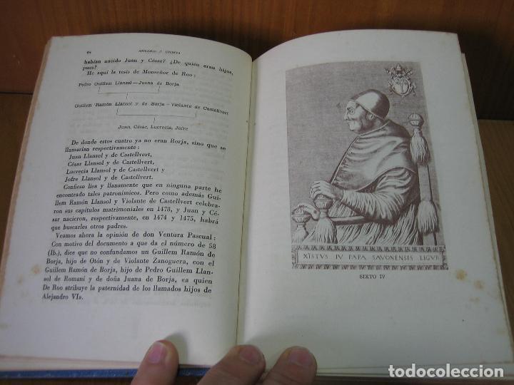 Libros antiguos: Los Borgia. Cesar Borgia 1945 - Foto 5 - 122994735