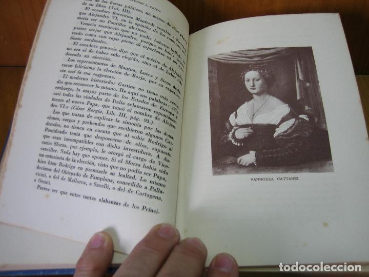 Libros antiguos: Los Borgia. Cesar Borgia 1945 - Foto 6 - 122994735