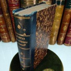 Libros antiguos: CARTAS DE ANDRES DE ALMANSA Y MENDOZA - NOVEDADES DE ESTA CORTE Y AVISOS RECIBIDOS DE OTRAS PARTES -. Lote 123012723