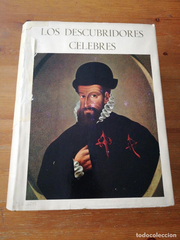 LOS DESCUBRIDORES CÉLEBRES (Libros Antiguos, Raros y Curiosos - Biografías )
