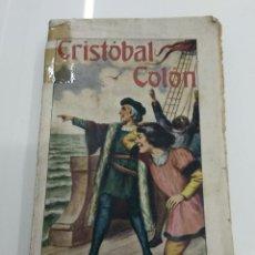 Libros antiguos: CRISTOBAL COLON BOSQUEJO HISTORICO RAMON SOPENA EDITOR PEDRO PEDRAZA Y PAEZ DESCUBRIMIENTO AMERICA. Lote 124904379