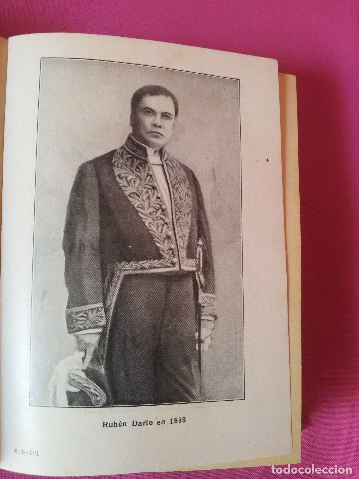 Libros antiguos: RUBEN DARIO - LA VIDA, LA OBRA Y NOTAS CRITICAS - COLECCION LOS GRANDES HOMBRES 1930 - Foto 5 - 125046419