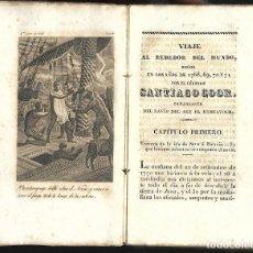Libros antiguos: LIBRO PRIMER VIAJE CAPITAN COOK VOL 6.1832-1833 IMPRENTA TOMÁS JORDAN MADRID. REGRESO A INGLATERRA. Lote 126821119
