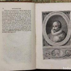 Livres anciens: 900. VIDA DE MIGUEL DE CERVANTES • 1819 • MARTÍN FERNÁNDEZ DE NAVARRETE · GRABADOS · GENEALOGÍA. Lote 127673963