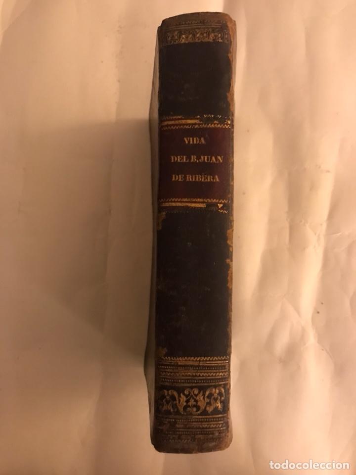 VIDA DEL BEATO JUAN DE RIBERA. VALENCIA AÑO 1798 (Libros Antiguos, Raros y Curiosos - Biografías )
