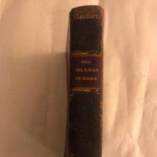 Libros antiguos: VIDA DEL BEATO JUAN DE RIBERA. VALENCIA AÑO 1798. Lote 127881979