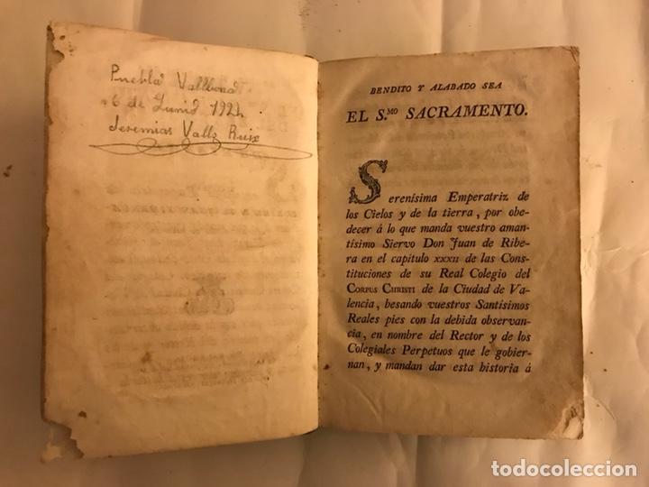 Libros antiguos: Vida del Beato Juan de Ribera. Valencia año 1798 - Foto 4 - 127881979