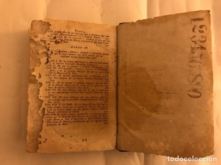 Libros antiguos: Vida del Beato Juan de Ribera. Valencia año 1798 - Foto 6 - 127881979
