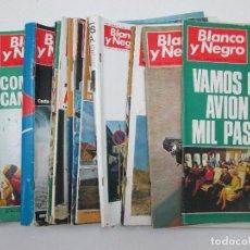 Libros antiguos: LOTE DE 60 REVISTAS BLANCO Y NEGRO DE LOS AÑOS 70. Lote 127916315