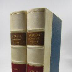 Libros antiguos: MÉMOIRES DU MARÉCHAL JOFFRE (1910 - 1917), 1932, 2 TOMOS, PARIS. 15X22CM. Lote 128205595