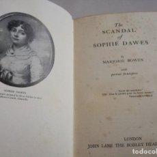Libros antiguos: 1934: EL ESCÁNDALO DE SOPHIE DAWES, AMANTE DE LUIS ENRIQUE JOSÉ DE BORBÓN-CONDÉ. Lote 128236607