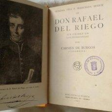 Livres anciens: DON RAFAEL DEL RIEGO.. Lote 130191712