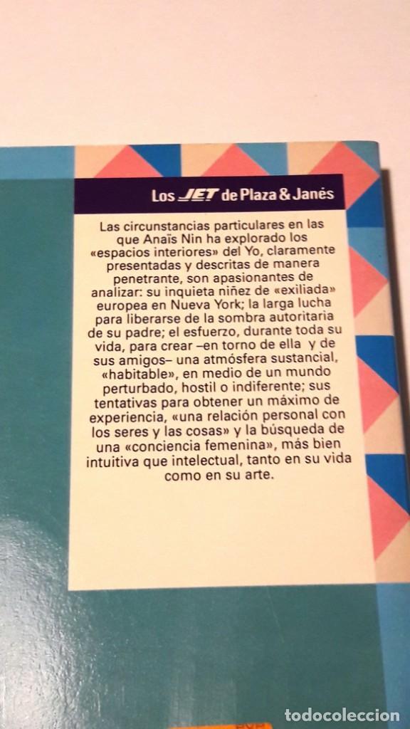 Libros antiguos: ANAÏS NIN - DIARIO IV (1944 - 1947) - PLAZA & JANÉS -1993 (1ª EDICIÓN) - Foto 2 - 130620742